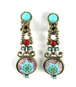 DeLizza and Elster Juliana Moroccan Matrix Pendant-Style Earrings