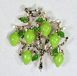 partridge in a pear tree pin